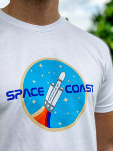 Falcon Heavy Rainbow Tee