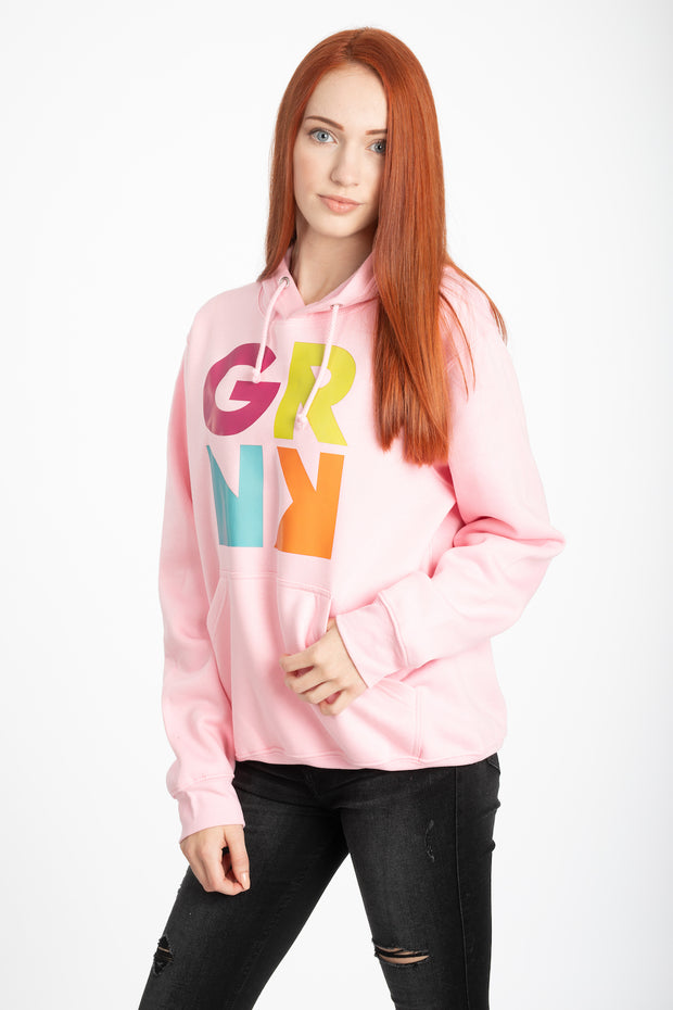 Hoodie - Signature Kollektion - SPRNG (pink-coloured)