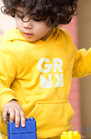 Hoodie - Signature Kids Kollektion - SPRNG (Yellow)