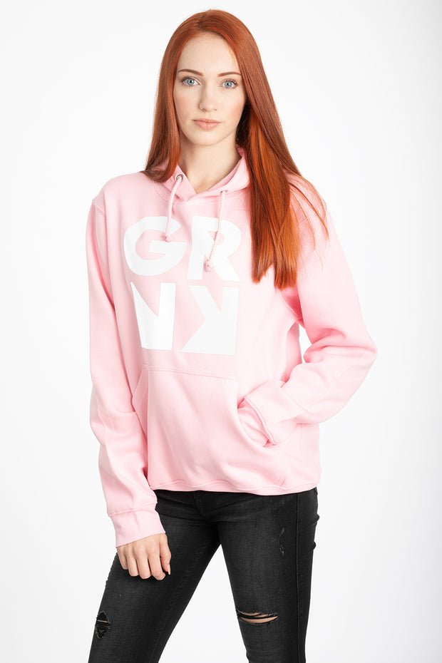 Hoodie - Signature Kollektion - SPRNG (pink-white)