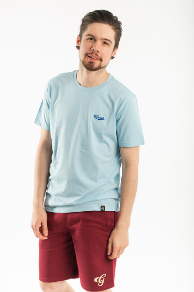 Vegan T-Shirt - GRONKH Collection - SkyBlue