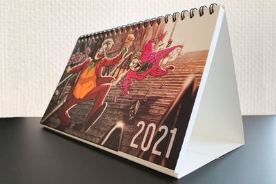 Start & Select - Postkartenkalender 2021