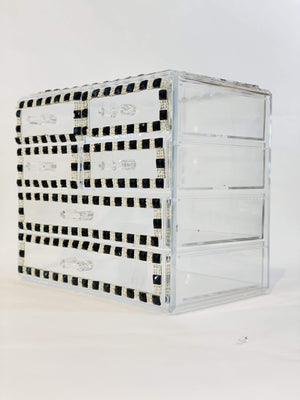 luxurypalace.nl make up organizer Make up organizer - Black Strass