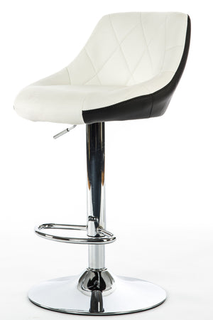 luxurypalace.nl Visagiste stoel Duo Color Artists Chair by Luxury Palace - WIT