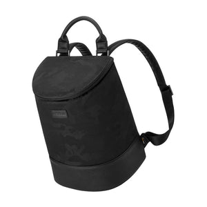 Insulated Eola Bucket Backpack Cooler in Black Camo