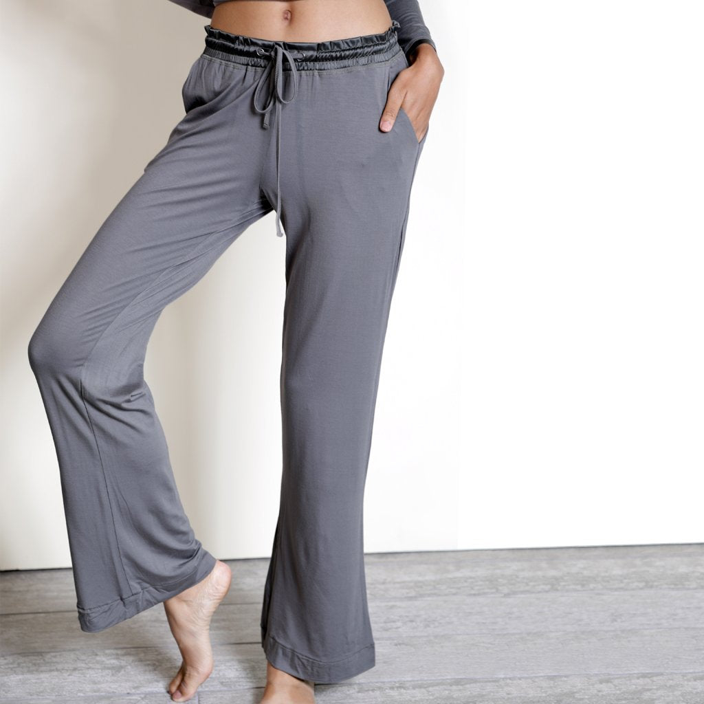 Bamboo Lounge Pant in Earl Grey