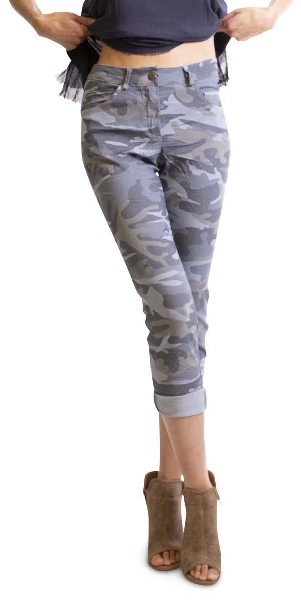 Camo Pants in Blue