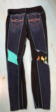 Teal Patch Holy Grail Jean