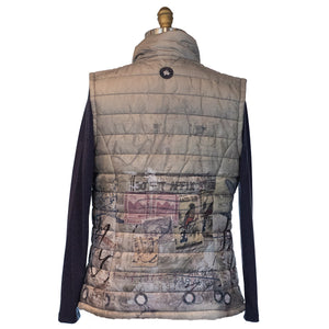 Do Not Affix Stamp Puffer Vest