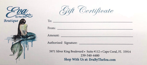 Eva by the Sea Gift Card