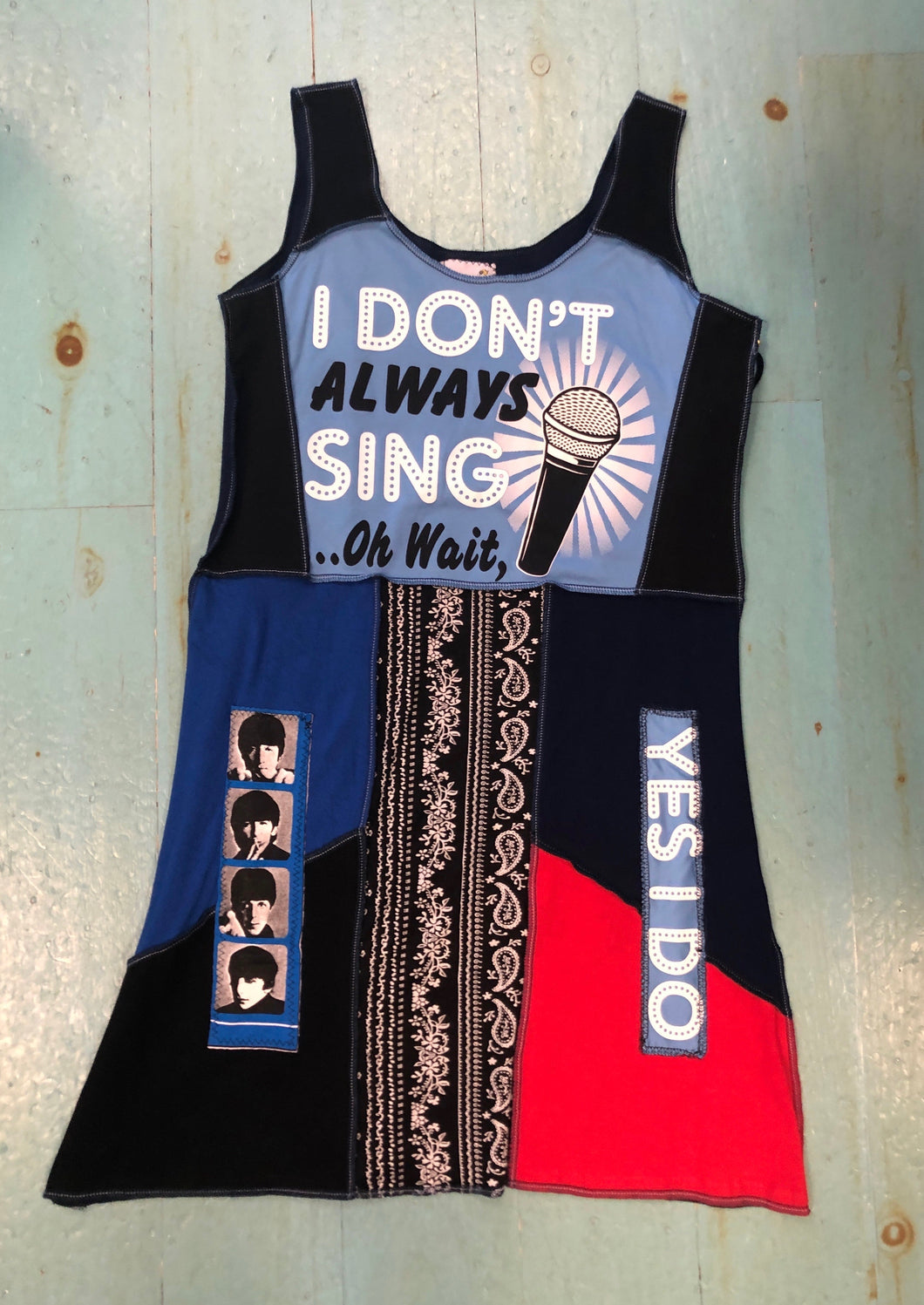 The Beatles Short Tank Dress