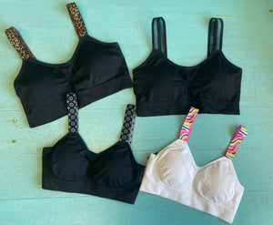 Strap It's Seamless Bra with Attached Straps