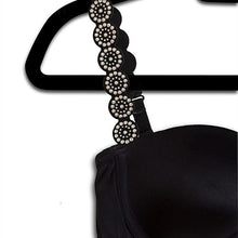 Strap-Its Black Silver Studded Circle Straps