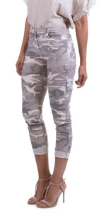 Camo Pants in Beige