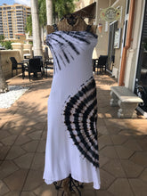 Black & White Tie Dye Skirt