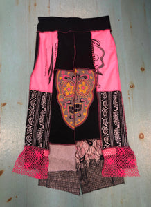 Pink & Black Car Wash Skirt