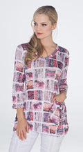Pink Patterned Jackie Top