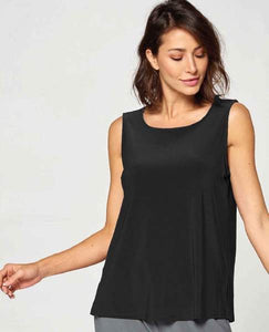Modest Tank Top in Black