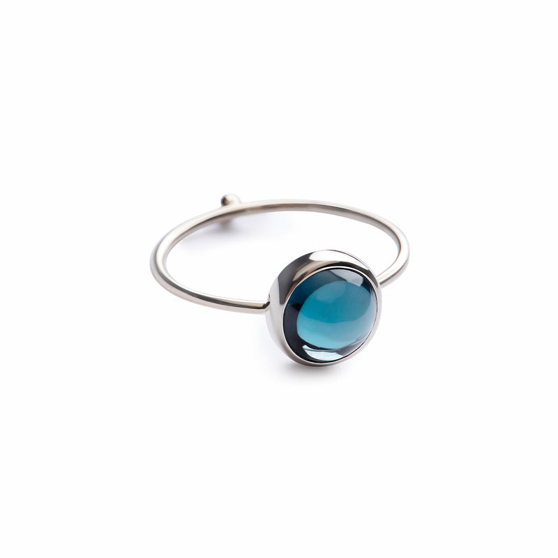 Monocle 8 Deep Blue Topaz