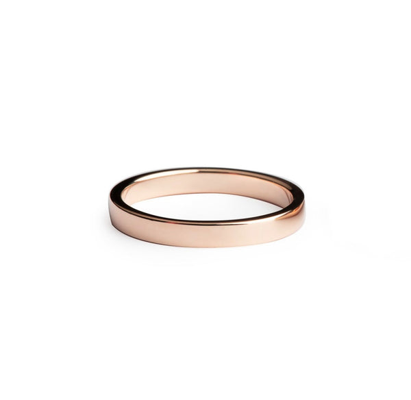 Rectangle Love Band 2.5mm