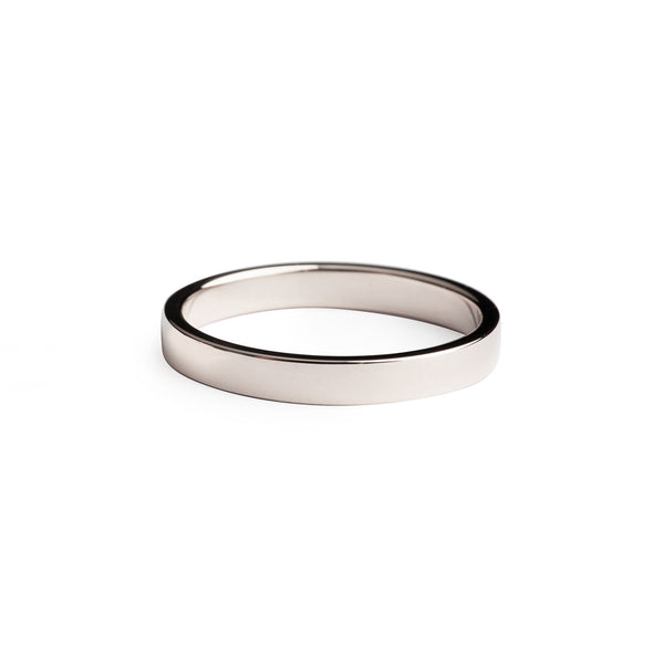 Rectangle Love Band 3.0mm