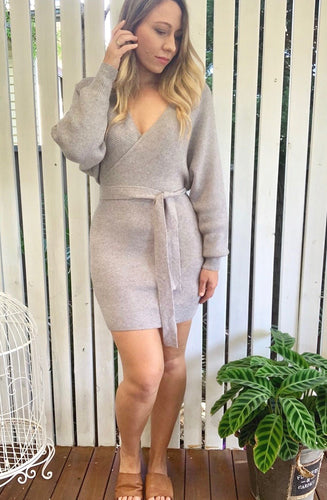 Sophia Knit Dress