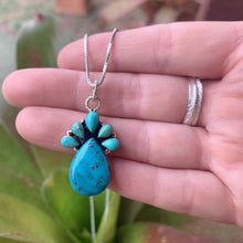 Pineapple Turquoise Necklace