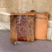 Tooled Leather Crossbody