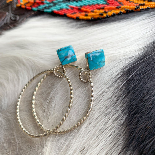 Twist Hoops Earrings