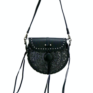 Mondala Tooled Crossbody BLK