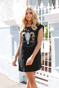 Lost in Lunar Skull Dress Size 6
