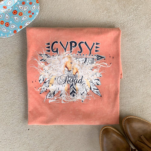 Gypsy Road Terracotta Tee