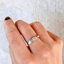 Stirling Silver Feather Ring