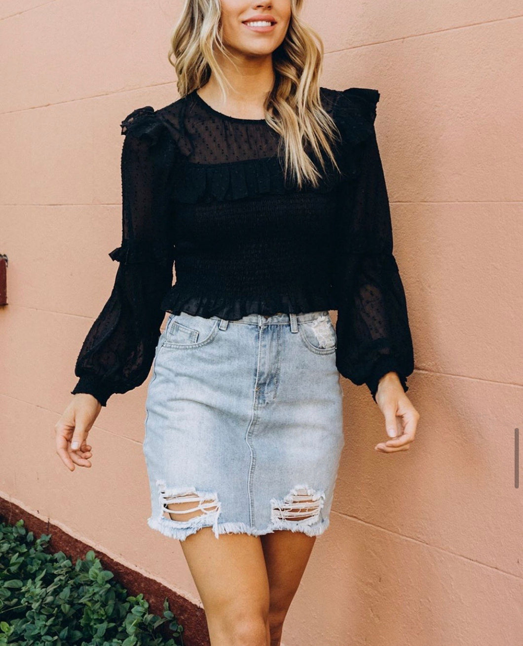 Black Betty Blouse