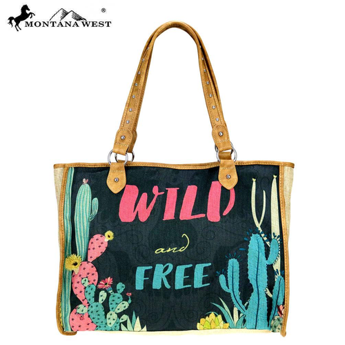 Wild West Collection Canvas Tote