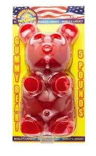 WORLD'S LARGEST GUMMY BEAR 5 LB
