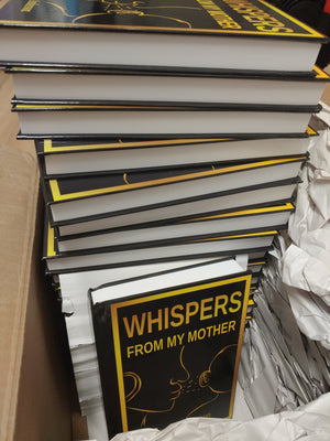 Whispers From My Mother (Hard Cover/Back) - Special price promotion