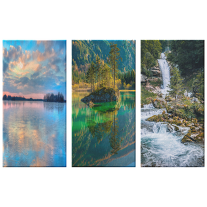 Nature's Beautiful Scenes Canvas