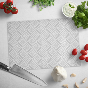 Personalize this Glass Cutting Board
