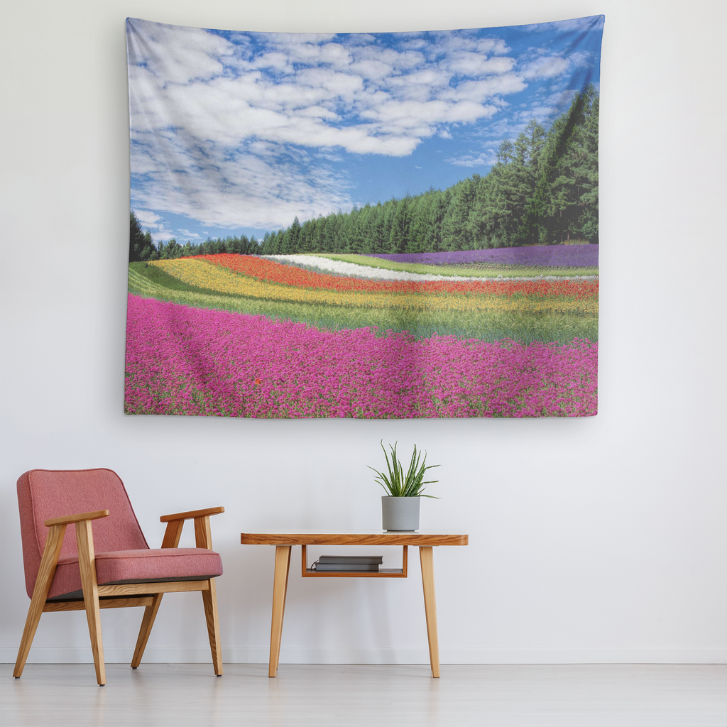 Colorful Bloom Wall tapestry