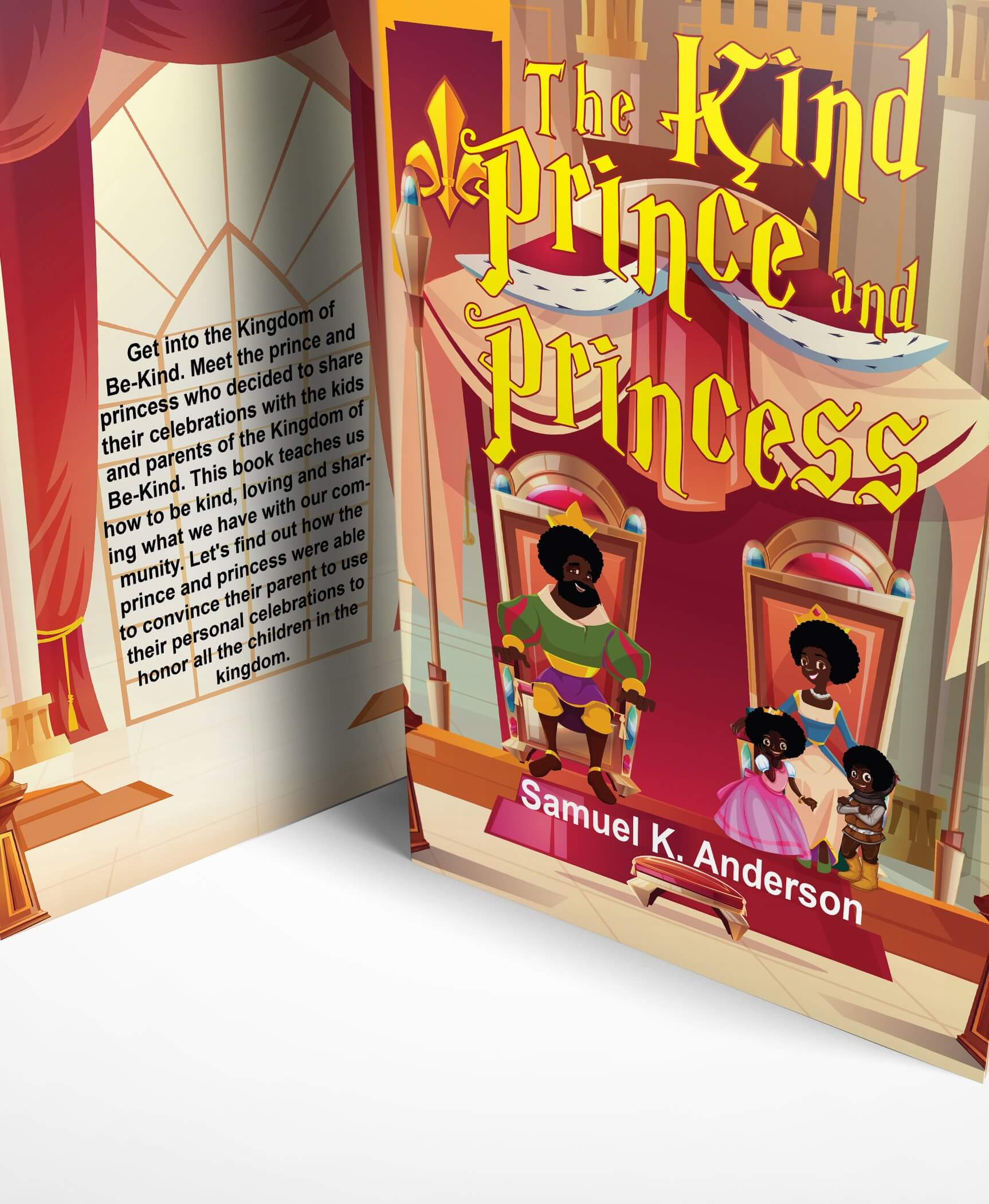 The Kind Prince and Princess - Special price promotion