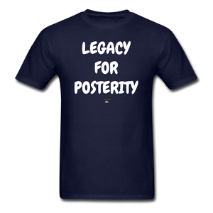 LEGACY FOR POSTERITY T-Shirt - navy