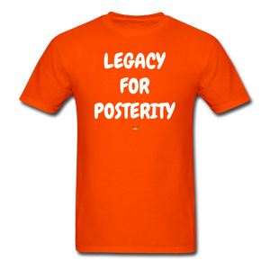 LEGACY FOR POSTERITY T-Shirt - orange