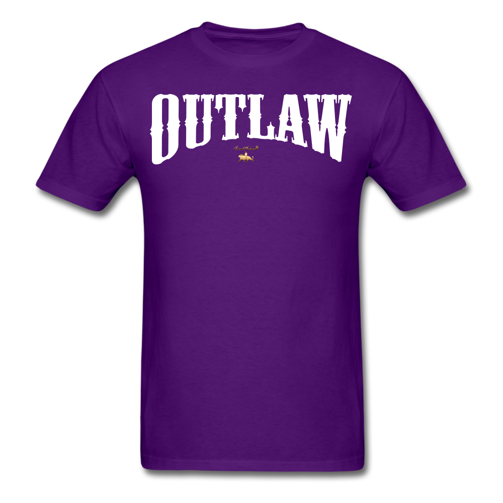 Outlaw  T-Shirt - purple