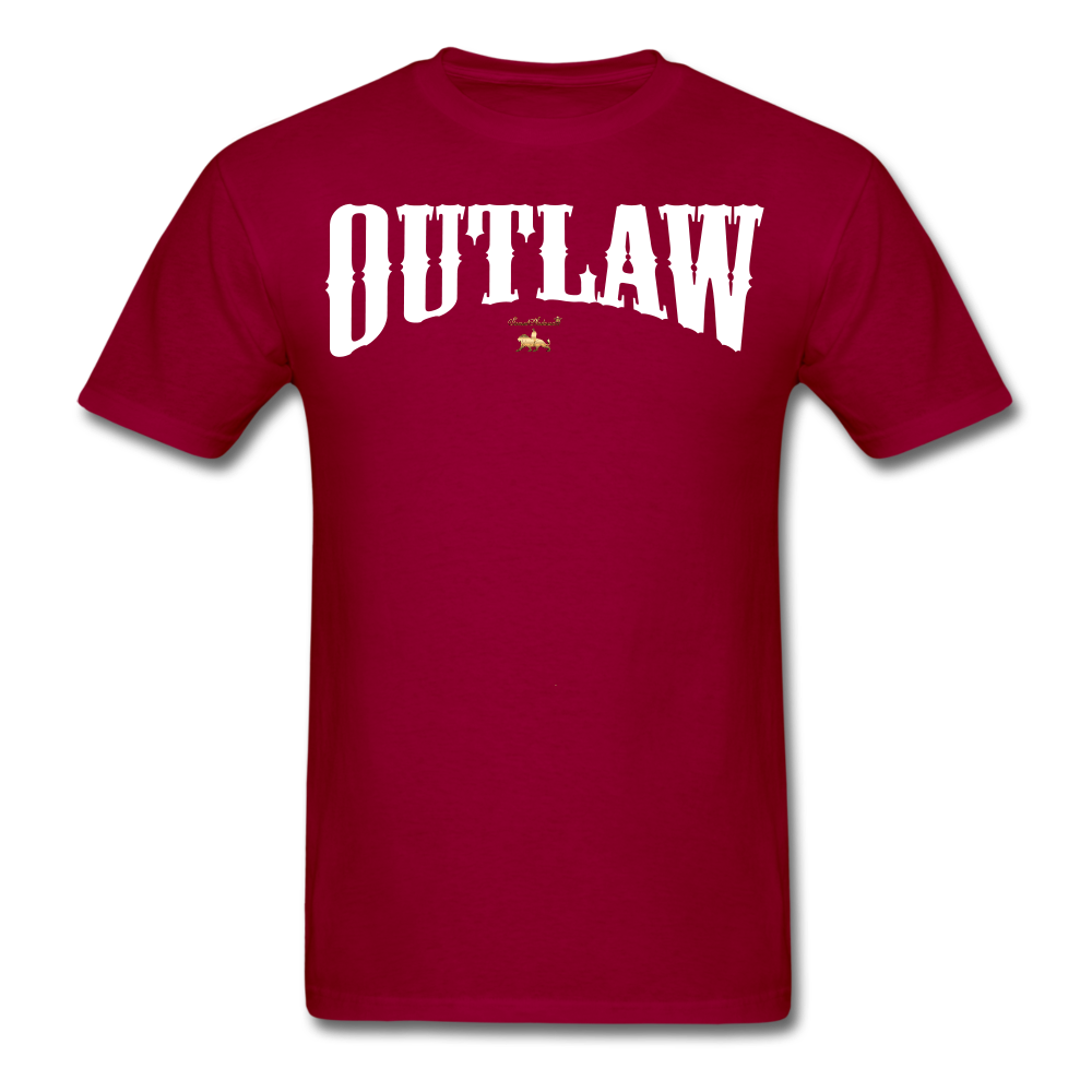 Outlaw  T-Shirt - dark red