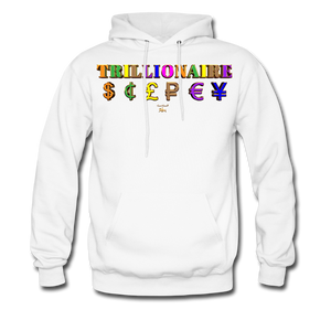 Trillionaire  Hoodie   (Adult) - white