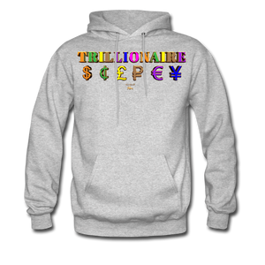Trillionaire  Hoodie   (Adult) - heather gray