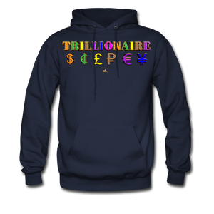 Trillionaire  Hoodie   (Adult) - navy