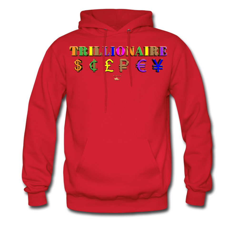 Trillionaire  Hoodie   (Adult) - red