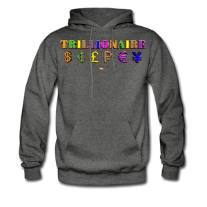 Trillionaire  Hoodie   (Adult) - charcoal gray